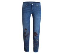 7/8-Jeans TAYA - dark blue