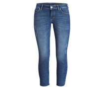 7/8-Jeans ALBY - blue wood wash