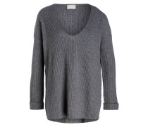 Cashmere-Pullover - anthrazit
