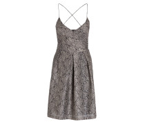 Kleid - beige/ grau
