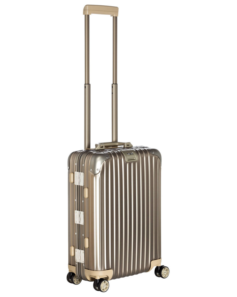 rimowa damen rimowa topas titanium multiwheel cabin trolley reduziert. Black Bedroom Furniture Sets. Home Design Ideas