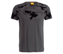 Camouflage-Shirt TIMBIT - graphit/ schwarz