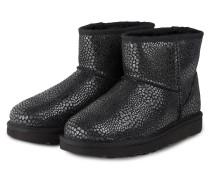 Fell-Boots CLASSIC MINI GLITZY - schwarz