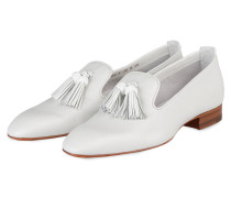 Tassel-Loafer - grau