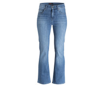 Flared-Jeans LUCI - super stone buffy blue