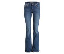 Flared-Jeans FRIDA - blau