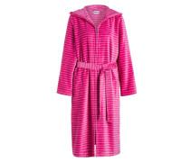 Damen-Bademantel - pink/ rosa