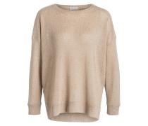 Pullover mit Paillettenbesatz
