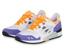 Sneaker GEL LYTE III - WEISS/ LILA/ ORANGE
