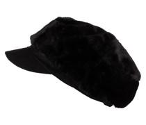 Mütze mit Kunstpelzbesatz