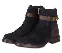 Chelsea-Boots HOLLY - dunkelblau/ braun