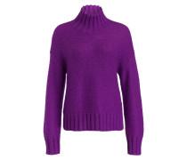 Strickpullover - violett