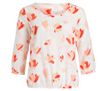 Bluse FLOWER - rosa/ rot