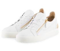 Sneaker FRANKIE STEEL - WEISS/ GOLD