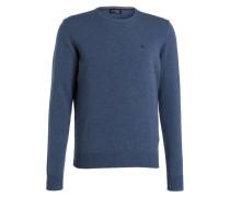 Pullover - dunkelblau meliert