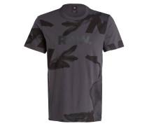 T-Shirt BONDED - dunkelgrau/ schwarz