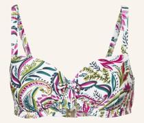 Bügel-Bikini-Top WAJANG FLORAL