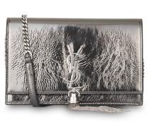 Clutch KATE - antrazit metallic