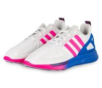 Sneaker ZX 2K FLUX - WEISS/ BLAU/ NEONPINK
