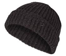 Cashmere-Mütze mit Paillettenbesatz