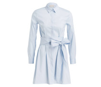 Blusenkleid - hellblau