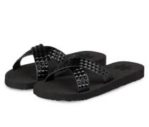 Sandalen CROSS TILE - schwarz