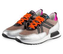 Sneaker SOLE - silber/ beige