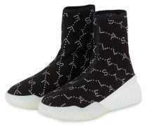 Hightop-Sneaker LOOP - SCHWARZ