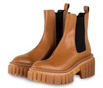 Plateau-Boots EMILIE - COGNAC