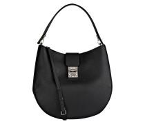 Hobo-Bag PATRICIA MONOGRAMMED - schwarz