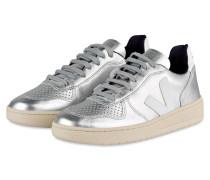 Sneaker - silber metallic