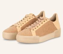 Plateau-Sneaker CASHMERE - CAMEL/ BEIGE