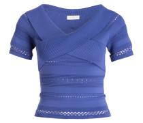 Strickshirt - lila