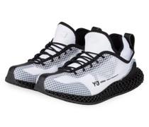 Sneaker Y-3 Runner 4D IO - SCHWARZ/ WEISS