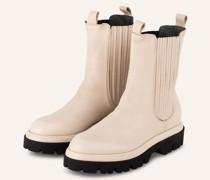 Chelsea-Boots - CREME