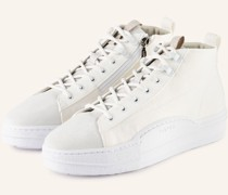 Hightop-Sneaker NAUTILUS - ECRU/ WEISSGOLD