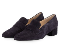 Loafer-Pumps - blau