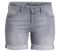 Jeans-Shorts CAMILLA - grau