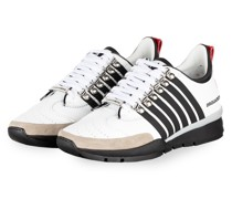 Sneaker 551 - WEISS/ SCHWARZ/ ROT