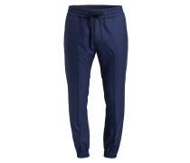 Hose im Jogging-Stil - blau
