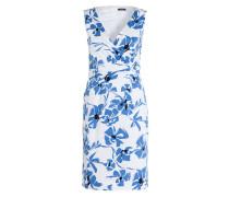 Kleid - blau/ weiss/ schwarz