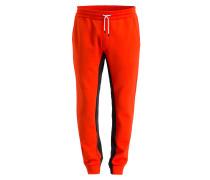 Sweatpants - rot/ schwarz