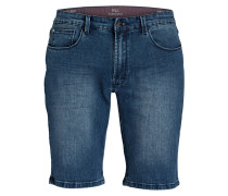 Jeans-Shorts Slim-Fit - smoked blue used