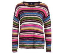 Pullover HEIKE - pink/ schwarz/ weiss