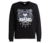 Sweatshirt TIGER - schwarz