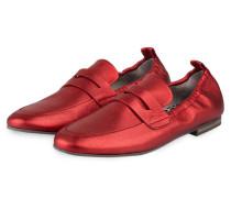 Loafer TARA - rot metallic