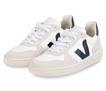 Sneaker V-10 - CREME/ WEISS