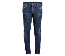 Jeans BASIC 2 Slim-Fit - blau