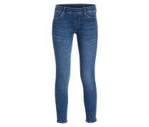 Skinny-Jeans - blue denim
