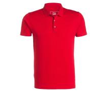 Poloshirt - rot struktur